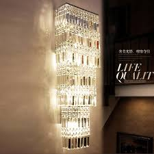 lobby luxury wall light led hotel project large