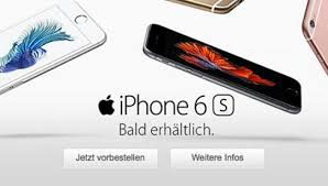 6S Preorder launched at Deutsche Telekom Ahead of Time