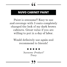 Nuvo Cabinet Paint Video by D I Y Paint Kits For Your Home U2013 Giani Inc
