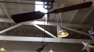 Belt Driven Ceiling Fan Diy by 60