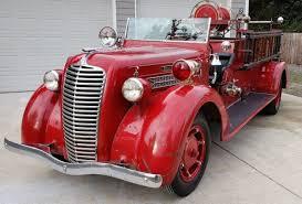 100 Antique Fire Truck Vintage 1936 Diamond T