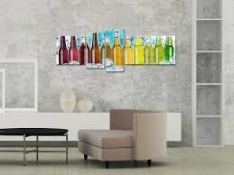 toile deco cuisine tableau déco cuisine moderne boissons impressions sur toile
