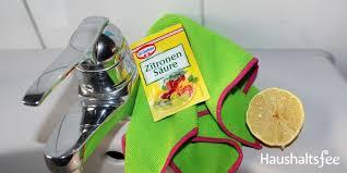 zitronensäure im haushalt 15 anwendungen für bad küche und