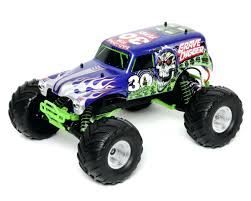 Grave Digger Toys New Bright Remote Control Monster Jam Grave Digger ...