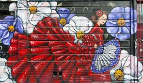 Balmy Alley Murals Mission District by Sf Neighborhoods The Mission District Bay City Guide San