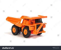 Toy Big Orange Dump Truck On Stock Photo (Edit Now) 314710280 ...