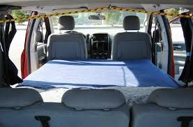Chrysler Minivan Camper Conversion Dodge Grand Caravan Kit