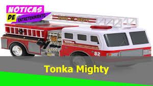 100 Tonka Mighty Motorized Fire Truck Engine Vehicle YouTube
