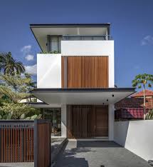 Modern House Minimalist Design by Eye Catching Minimalist Levels Small Houses With Wooden Wall
