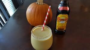 Kahlua Pumpkin Spice Martini Recipe by Pumpkin Kahlua Horchata Twin Leeks