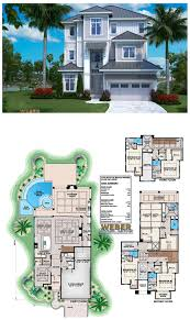 100 Modern Beach House Floor Plans Plan Open Layout Home Plan With Pool In