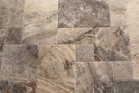 Scabos Travertine Natural Stone Wall Tile by Silver Travertine Versailles Ashlar Pattern Tiles Unfilled