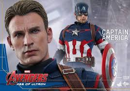 Amazon Hot Toys Marvel Avengers Age Of Ultron Captain America 1 6th Scale Collectible Figure MMS 281 Games