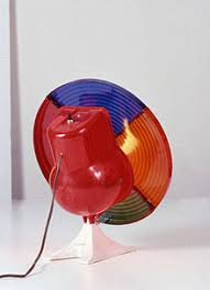 A Color Wheel For Use With An Aluminum Christmas Tree From The Collection Of Childrens Museum Indianapolis