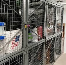 Wire Storage Lockers