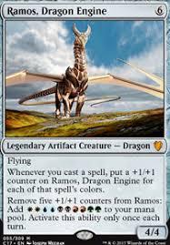 ramos the hammer dragon edh commander magic deck deckstats