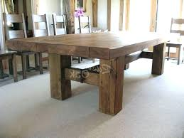Rustic Dining Room Table Plans Dinning Enchanting Large Tables In Chairs With Arms