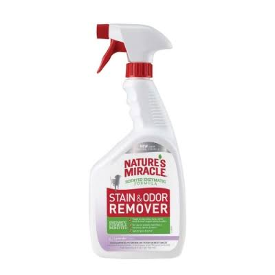 Nature's Miracle Stain & Odor Remover Spray - Lavender, 32 oz