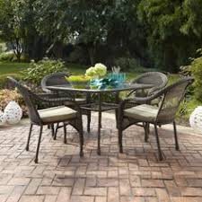 Lowes Canada Patio Sets by Crafted With Hand Woven Polyethylene Outdoor Wicker This Patio