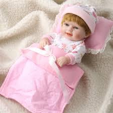 28 Handmade Lifelike Reborn Doll Girl Silicone Vinyl Newborn Dolls