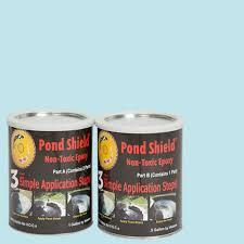 Rustoleum Garage Floor Coating Instructional Dvd by Blues Marine Pond U0026 Pool Paint Exterior Paint The Home Depot