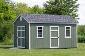 12x16 Storage Shed With Loft Plans by 12x16 Painted Cottage Byler Barns