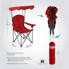 ALPHA CAMP Shade Canopy Chair Folding Camping Chair Support 350 LBS ... Gci Outdoor Roadtrip Rocker Chair Dicks Sporting Goods Nisse Folding Chair Ikea Camping Chairs Fniture The Home Depot Beach At Lowescom 3599 Alpha Camp Camp With Shade Canopy Red Kgpin 7002 Free Shipping On Orders Over 99 Patio Brylanehome Outside Adirondack Sale Elegant Trex Cape Plastic Wooden Fabric Metal Bestchoiceproducts Best Choice Products Oversized Zero Gravity For Sale Prices Brands Review