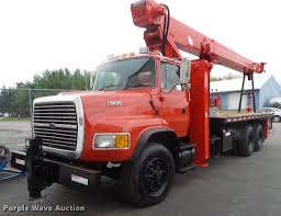 1995 Ford L9000 Crane Truck   Item DB8047   SOLD! November 3... Used Quad Axle Dump Trucks For Sale In Wisconsin And Custom As Truck Pics Or Side Exteions Plus Photo 7 C10 7387 Pinterest Chevrolet 1956 3100 Cameo Pickup For Classiccarscom Cc Olson Trailer And Body Green Bay Wi Equipment Manitex 30112 S Crane In Milwaukee On Chevy Food Mobile Kitchen 1950 Tow Cc657607 Ram Pulaski 1500 2500 3500 Sl Motors