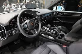 2019 Porsche Cayenne Turbo Spices up Frankfurt With 550 HP Motor