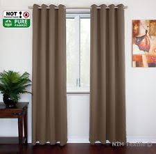 Thermal Lined Curtains Australia by With Blackout Window Curtains Ebay