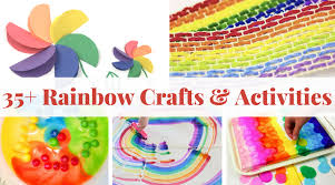 Rainbow Crafts And Activities For Kids Twitchetts