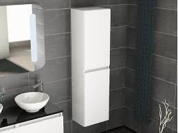 aqua bagno seitenschrank weiß 400x1500x300mm