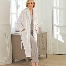 robe de chambre polaire femme zipp robe de chambre noir femme