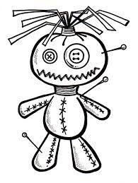 Voodoo Doll Drawings