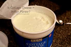 Is Cottage Cheese equal to the Indian Paneer inHouseRecipes