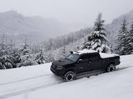 Went Camping Off A Forest Service Road The Night Of A Snow Storm ... Suzuki Carry Minitruck On Tracks Youtube Powertrack Jeep 4x4 And Truck Manufacturer Tank For Trucks You Can Get Treads For Your Vehicle Lamborghini Huracan With Rubber Snow Rendered Tire Through Stock Photo Image Of Track 60770952 Custom Right Track Systems Int Winter Proving Grounds Product Testing Services Smithers Rapra Ken Blocks Raptortrax Is A Snowmurdering Supertruck Land Rover Defender Satbir Snow Tracks Made By Dajbych Krkonoe Buy The Snocat Dodge Ram From Diesel Brothers