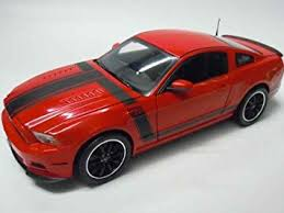 Amazon 2013 Ford Mustang Boss 302 Red 1 18 by Shelby