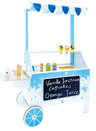 Hape Kitchen Set Australia by Amazon Com Hape Ice Cream Emporium Wooden Play Kitchen Toy With