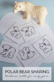Hands On Math Activity For Early Years With The Theme Of Tundra Or Polar Animals