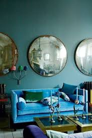Teal Green Living Room Ideas by Color Clash Emerald And Teal Emily Henderson