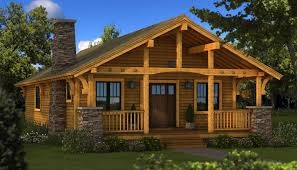Log Home Plans Cabin Southland Homes Style House Small Large With Wrap