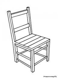 dessiner une chaise mobilier table dessin d une chaise