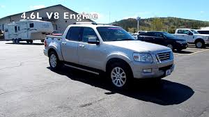 2008 Ford Explorer Sport Trac 4WD V8 At Summit Ford - YouTube Preowned 2007 Ford Explorer Sport Trac Limited Utility In Truck For Sale Auc Medical School Used 2008 Xlt Rwd For Sale Port St Ford Explorer Adrenalin Google Search Badass Cars Trucks Lifted 4x4 Off Roads Ford Explorer Sport Limited Stock 14834 Near Duluth Nationwide Autotrader 4d 2004 Adrenalin One Owner Accident 2010 Reviews And Rating Motortrend 4x4 Addison Il