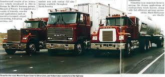 Old Cabover Mack Trucks