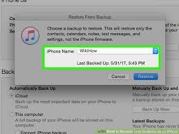 3 Ways to Recover Lost Contacts on an iPhone wikiHow