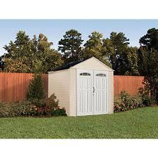 6 X 6 Rubbermaid Storage Shed by Rubbermaid Roughneck Xl 7 U0027x7 U0027 325 Cu Ft Outdoor Storage Building