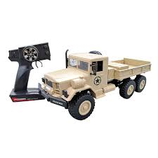 100 Military Truck 24Ghz 6WD Remote Control 112 Army M35 6X6 Off Road
