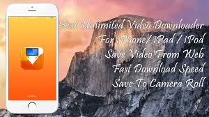 Best Video Downloader For iPhone iPad iPod Touch iOS 11 Save