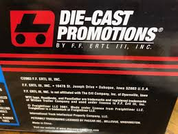 100 Diecast Promotions Trucks Die Cast ERTL 1 64 Scale Tractor Trailer 30560 Series II