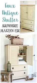 Faux Antique Shutter Armoire Makeover Rustic Reclaimed Wood Shutter Door Armoire Cabinet Computer Indelinkcom 51 Best Shaycle Products Images On Pinterest Cabinets Wardrobe Grey Armoire Door Abolishrmcom Doors And Fniture Brushed Oak Painted Large Land Armoires Wardrobes Bedroom The Home Depot Storage Modern Closet Steveb Interior How To Design An